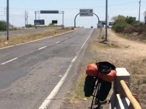 Crossing from Sonora to Sinaloa.