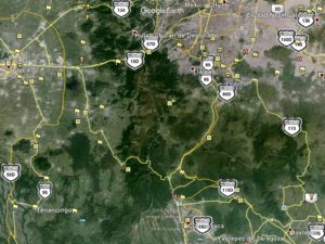 Mexico City area. Tepoztlan is about where the 115D is