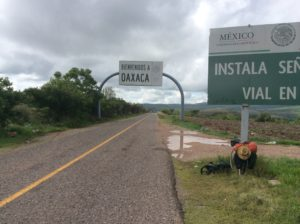 Welcome to Oaxca! Hard on tires, hard on hemorrhoides (yes, the latter's become a problem)