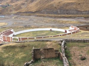 Bull fighting rings replace soccer fields in many of the mountain towns.